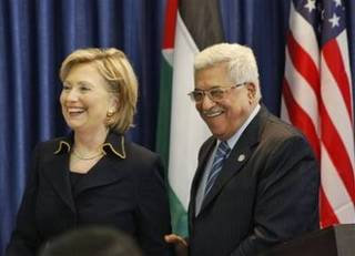 Raw: Clinton Arrives In West Bank