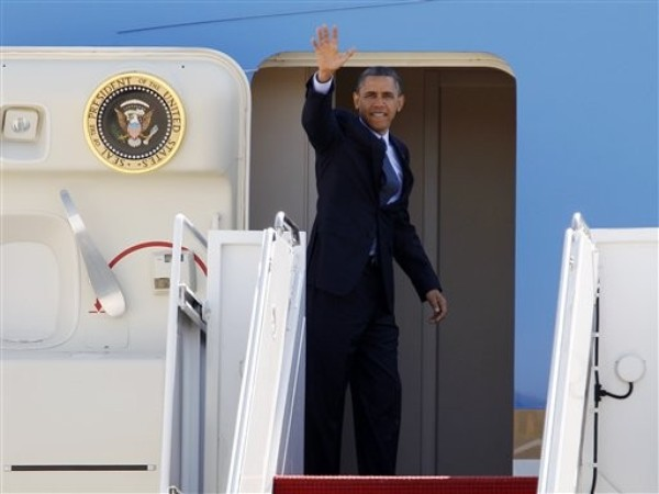 RealClearPolitics - Obama Brings Economic Message to Midwest