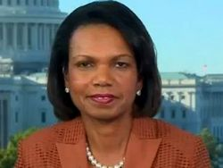 Condoleezza Rice Makes Case for Ame