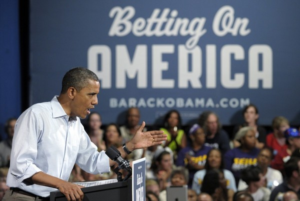 Obama Bus Tour Can't Skirt Unemployment Pothole