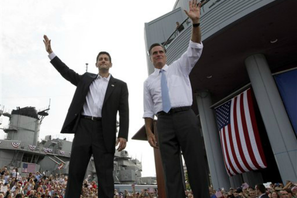 Romney and VP Pick Paul Ryan