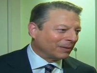 Al Gore Reads His Global Warming Poem To CNN Reporter