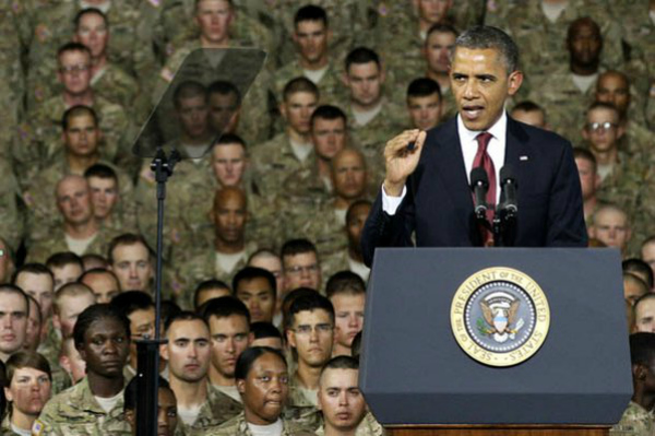 Obama Looks to Veterans, Military for Support | RealClearPolitics