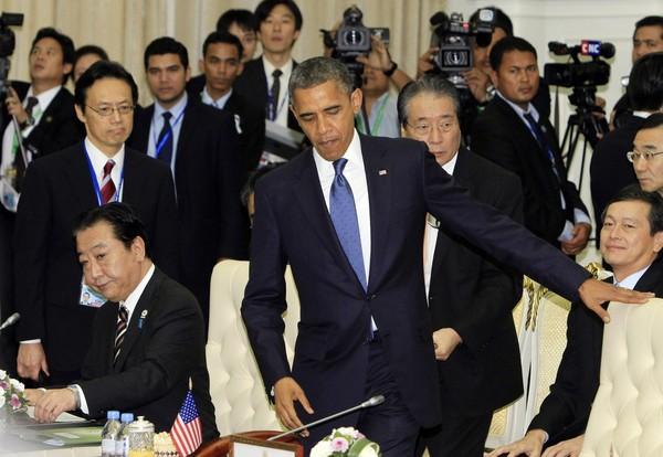 Obama asian tour japan