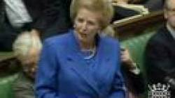 Margaret Thatcher's Iron Lady Speec