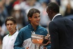Nadal Easily Wins Eighth French Ope