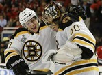 Bruins Top Blackhawks in Game 2 OT
