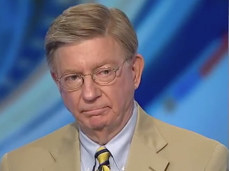 george will on syria obama obviously a reluctant president