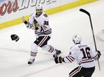 Blackhawks Score Twice in Final 75