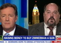 Piers Morgan vs. Man Raising Money To Buy Zimmerman A Gun