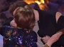 Actor Seth Rogen Makes Out With His Mother At MTV Movie Awards