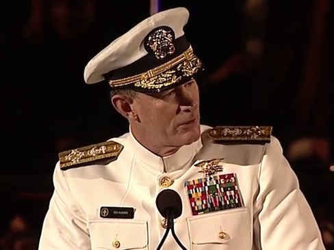 Admiral william mcraven graduation speech