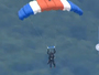 Fmr. President George H.W. Bush Parachutes For 90th Birthday