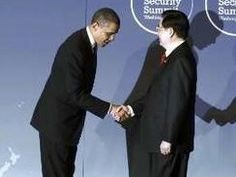 Image result for Obama bows to China