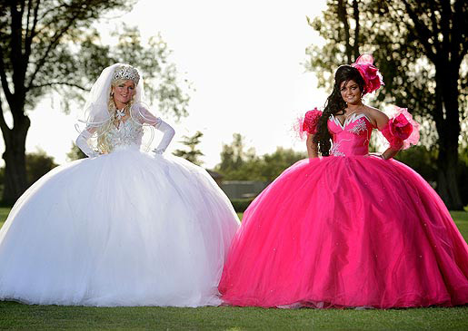 11 Tackiest Dresses from 'My Big Fat Gypsy Wedding'  RealClear