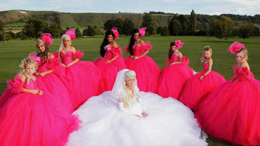 Gypsy Wedding Dresses.11 Tackiest Dresses From My Big Fat Gypsy Wedding Realclear