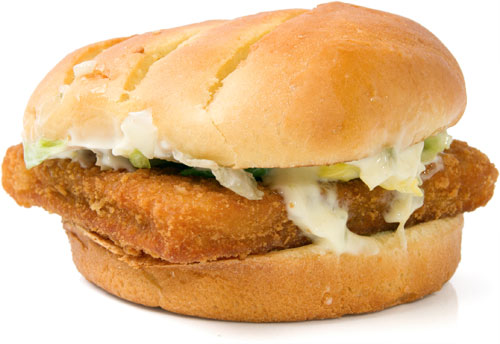 9 worst items to order at fast food restaurants according for Mcdonald s fish sandwich