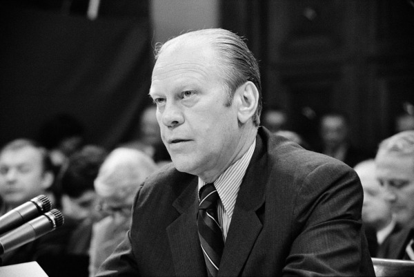 President Ford S Courageous Move Testifying Before
