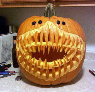 7 Twisted Pumpkin Carvings To Try This Halloween Realclear