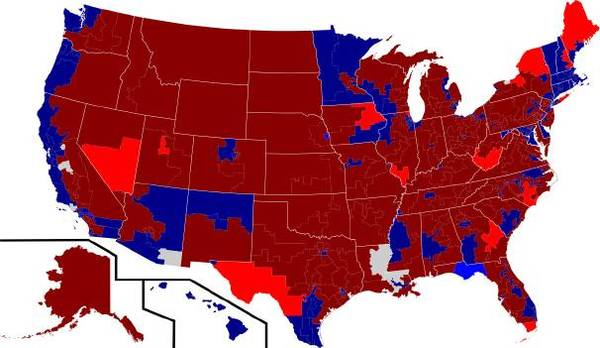 Is This The Political Map Of The Future RealClearPolitics - Future map of us
