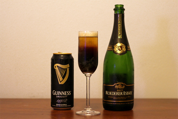 DIY Holiday Cocktails: Guinness Black Velvet Beer Cocktail | RealClear