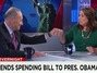 Schumer Fist Bumps Outgoing CNN Anchor Crowley: