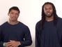 Seattle Seahawks' Richard Sherman & Russell Wilson Push Obamacare in Public Service Announcement