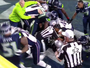 Brawl Instigated By Seattle Breaks Out 18 Seconds Before End Of Super Bowl, LB Bruce Irvin Ejected