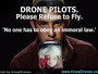TV Ad On MSNBC & CNN Asks Drone Pilots To Stand Down For The Sake Of