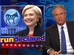 Jon Stewart to Republicans Attacking Hillary Clinton: She's A