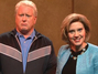 Saturday Night Live's Hillary Clinton Bothers People To Vote For Her While Bill Charms Suntanning Women