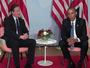 President Obama and UK Prime Minister David Cameron Speak At Bilateral Meeting