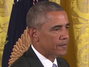 Obama Scolds Major Garrett For Asking Question About U.S. Hostages In Iran: