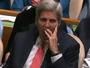 Kerry Yawns During Obama's UN Speech