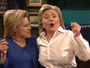 Hillary Clinton Sings and Dances, Tends Bar on Saturday Night Live