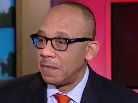 """Eugene Robinson: Trump Is """"Playing The Race Card"""" To ... Eugene Robinson"""