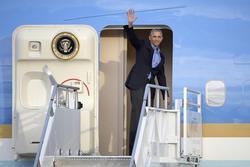 Obama Savors Glow of Sun Setting on His Presidency