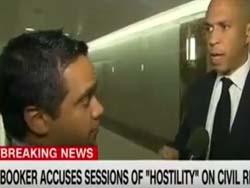 CNN's Manu Raju Asks Cory Booker About 2020