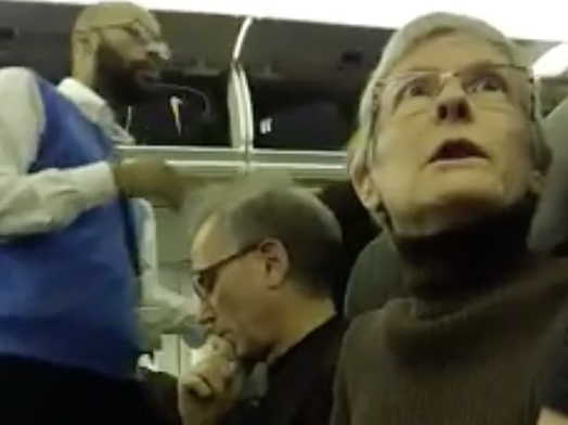 Woman Berates Trump Supporter, Gets Kicked Off Plane: