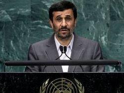 Ahmadinejad: US