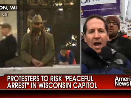 FOX News Reporter Gets Hit During Live Broadcast From Wisconsin