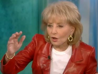 Barbara Walters on Barbara Walters  I D  Hate To Be A Republican  Running Against Obama